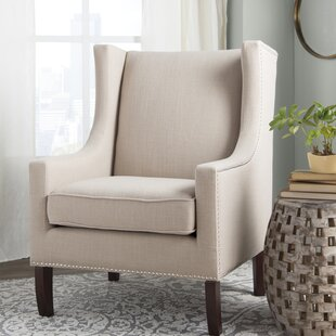 Agnes Wingback Chair by Three Posts