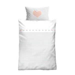 Baumwolle Bettwäsche Herz