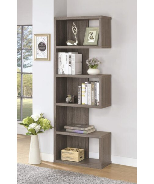 Tillery Standard Bookcase by Wrought Studio