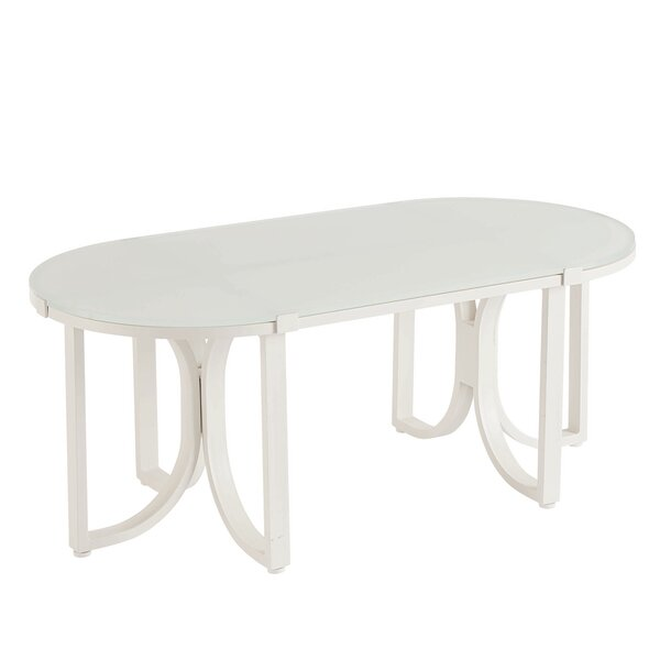 Dani Pedestal Coffee Table By Highland Dunes