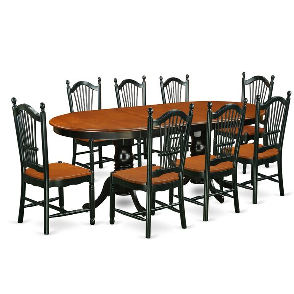 Pilcher 9 Piece Dining Set by August Grove August Grove