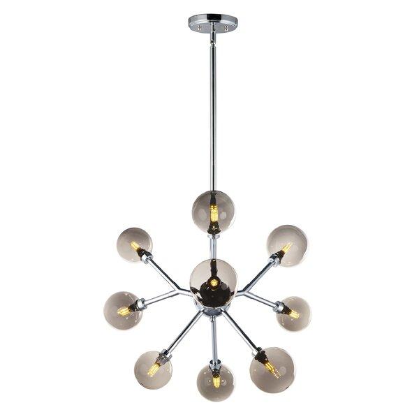 Royster 9 - Light Sputnik Sphere Chandelier by Wrought Studio Wrought Studio