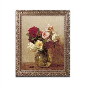 'Rosses, 1884' Framed Painting Print by Trademark Fine Art