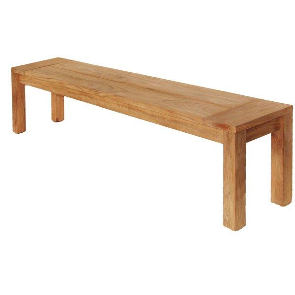 Teak Three Seat Bench