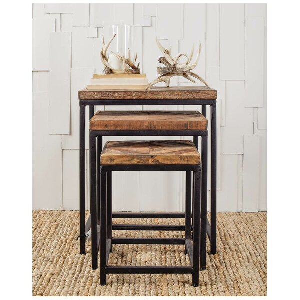 Osborne 3 Piece Nesting Tables by Union Rustic