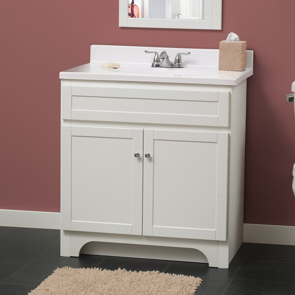Hanaford 24 Single Bathroom Vanity Set by Andover