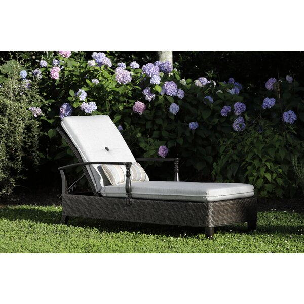 Bungalow Adjustable Reclining Chaise Lounge with Cushion by Paula Deen Home Paula Deen Home