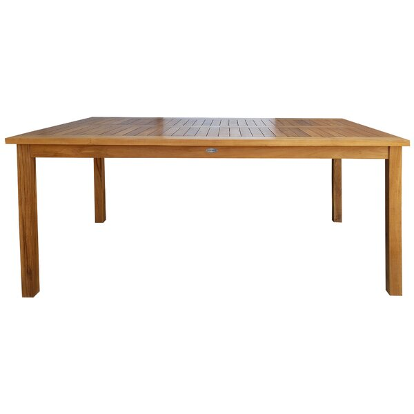 Dawnview Teak Bar Table by Loon Peak