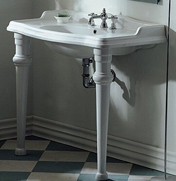 China 22 Console Bathroom Sink by Whitehaus Collection