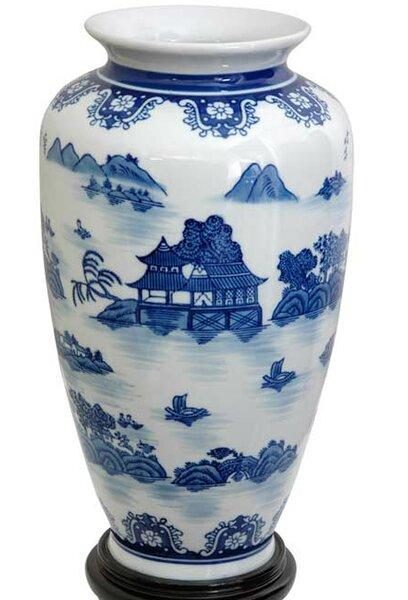 Christiane Tung Chi Porcelain Vase by World Menagerie