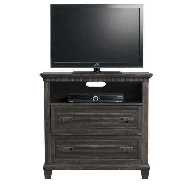 Read Reviews Suzann 2 Drawer Media Chest