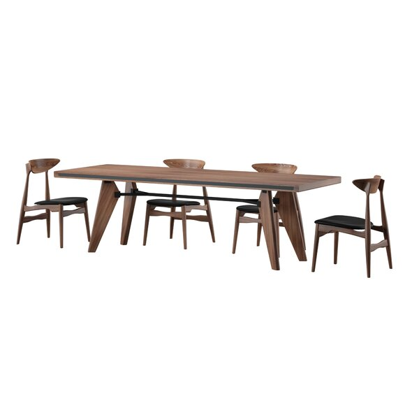 Mulkey 5 Piece Dining Set by Mercury Row