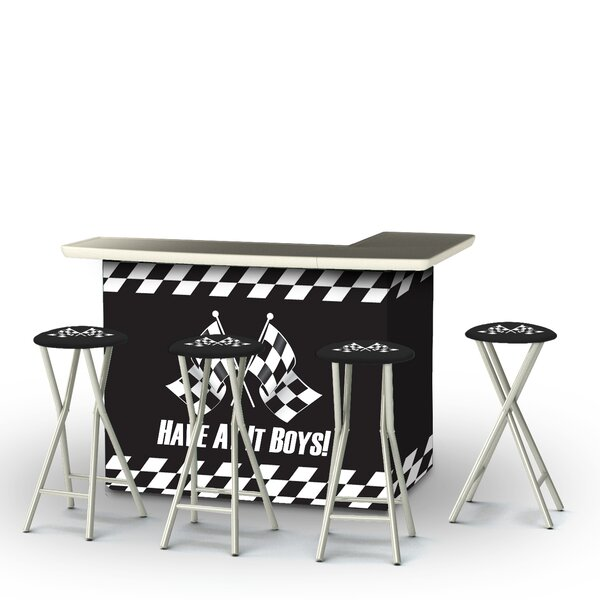 Have At It Boys 5-Piece Bar Set by Best of Times Best of Times