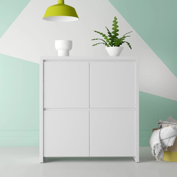Kiana 4 Door Accent Cabinet by Hashtag Home