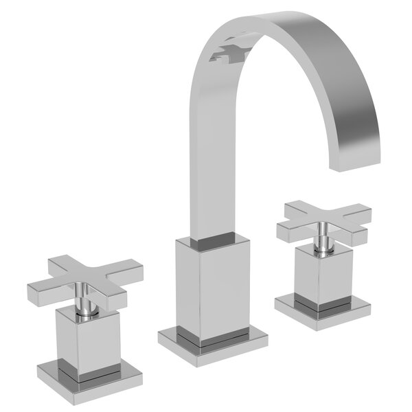 Secant Lavatory Widespread Bathroom Faucet With Drain Assembly By Newport Brass
