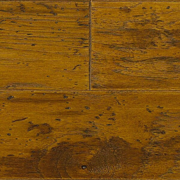 Americano 5 Engineered Hickory Hardwood Flooring in Sunrise by Welles Hardwood
