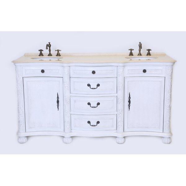 England 37 Double Bathroom Vanity Set by B&I Direct Imports