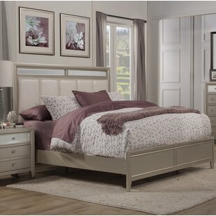 Gottfried Upholstered Panel Bed by Willa Arlo Interiors