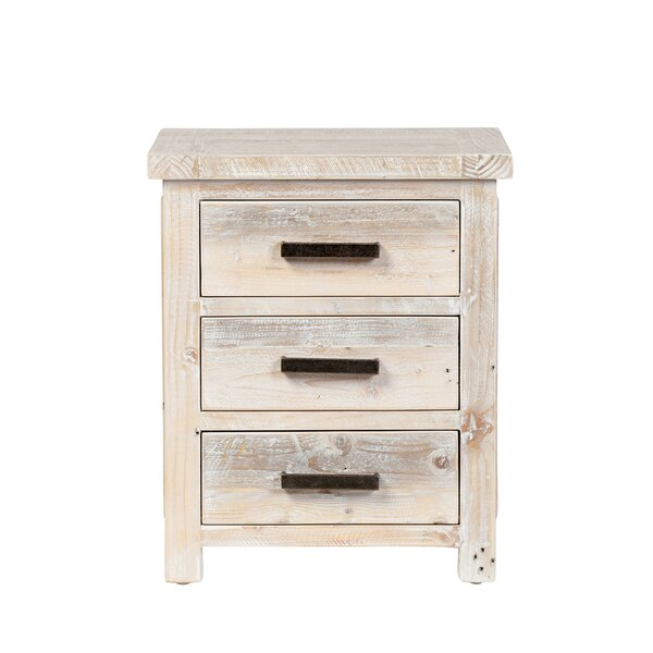 Vincente 3 Drawer Nightstand by Foundry Select