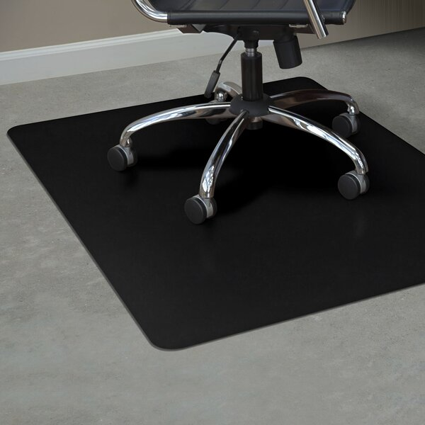 TrendSetter Rectangle Hard Floors Straight Edge Chair Mat by ES Robbins Corporation
