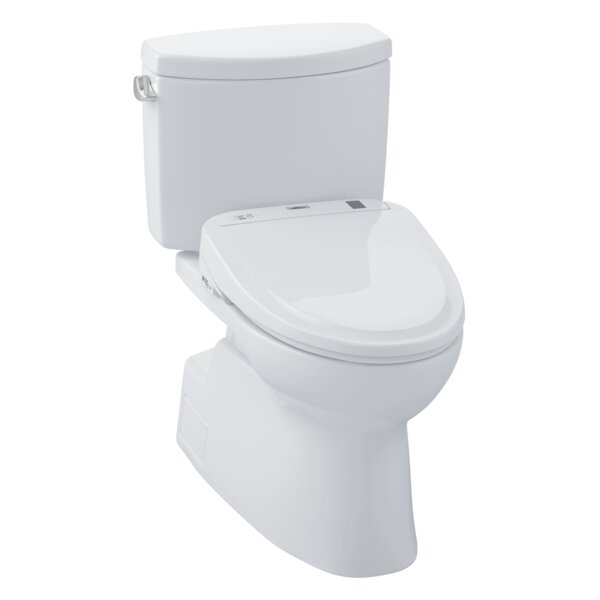 Vespin 1.28 GPF Elongated Two-Piece Toilet by Toto