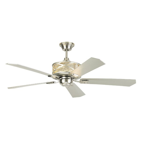 54 Forsythe 5 Blade LED Ceiling Fan with Remote by Ivy Bronx