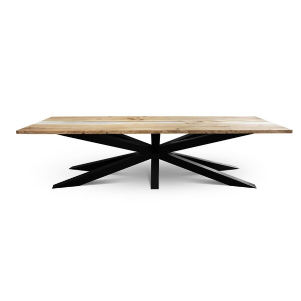 Altura Solid Wood Dining Table by Foundry Select
