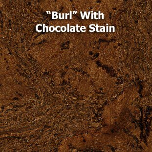 11-7/8 Cork Flooring in Burl with Chocolate Stain by Albero Valley