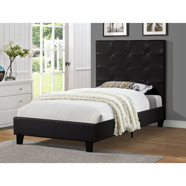 Theisen Upholstered Platform Bed by Wrought Studio