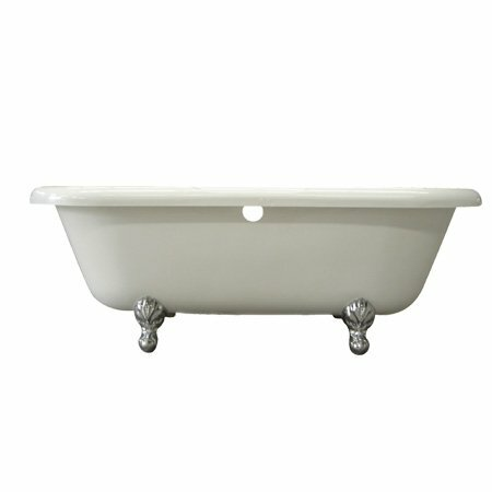 Vintage 67 x 29 Acrylic Soaking Bathtub by Elements of Design