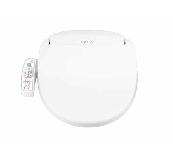 Novita Round-Front Cleaning Toilet Seat by Kohler