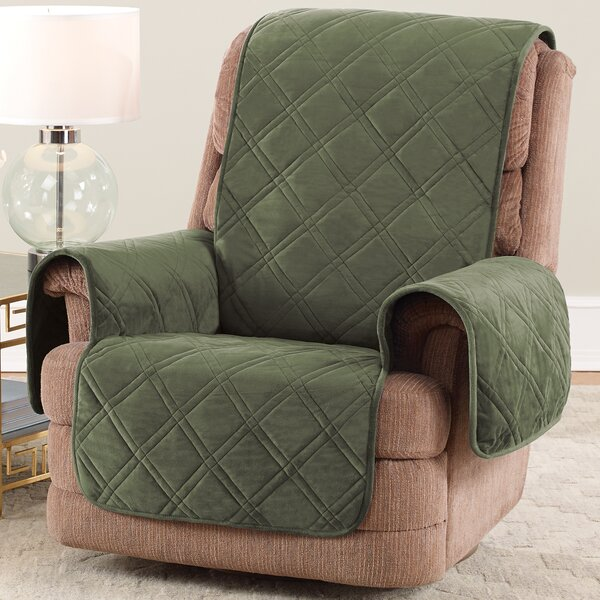 Triple Protection FC Box Cushion Recliner Slipcover By Sure Fit