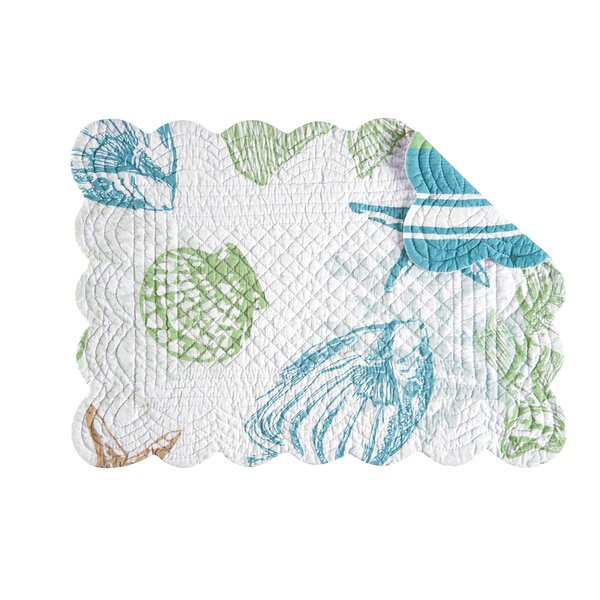 Reef Point Placemat (Set of 6) by C&F Home