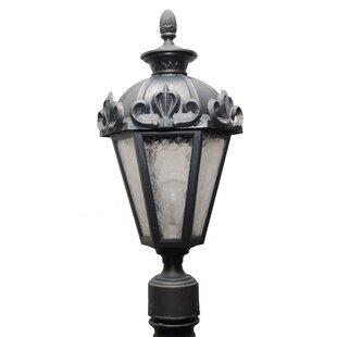 Affordable Petrey 1 Light 21 Post Lantern By Alcott Hill