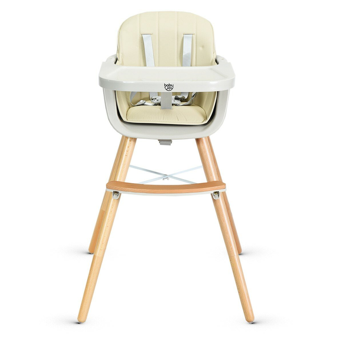3 in 1 Baby High Chair Infant Child Feeding Seat Highchair Food Tray Safety Belt