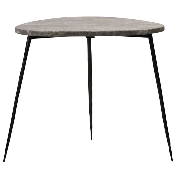 Olivo 20 Marble Top End Table by Tipton & Tate