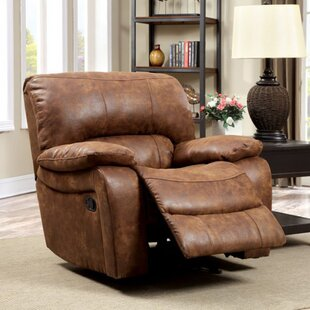 Rowena Manual Glider Recliner Loon Peak