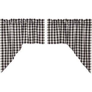 Kitchen Swag Valances Curtains Youll Love