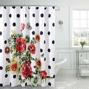 Fancy Morning Stars Shower Curtain