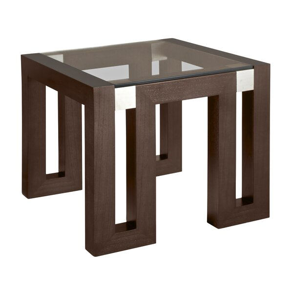 Calligraphy End Table by Allan Copley Designs