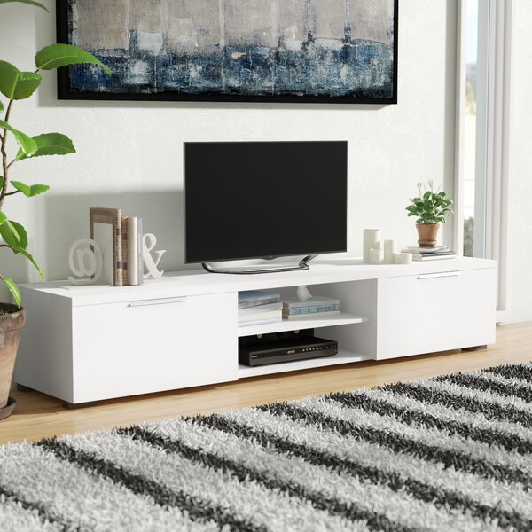 Inexpensive Rafael TV Stand for TVs up to 78 by Wade Logan
