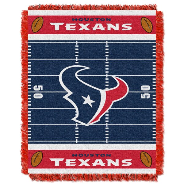 NFL Texans Field Baby Blanket by Northwest Co.