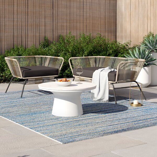 Harvey 2 Piece Standard Seating Group with Cushions by Foundstone