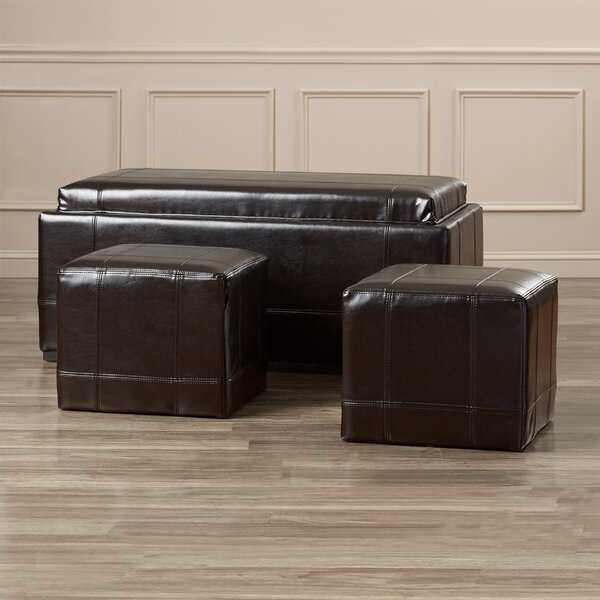 Elkhart Ottoman (Set of 3) by Darby Home Co