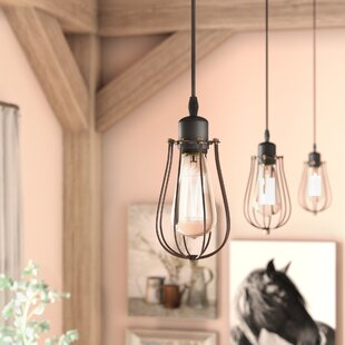 Mini pendant light shades only wayfair armona 1 light clear shade mini pendant mozeypictures Gallery