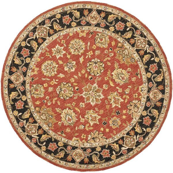 Weaver Red Rug by Astoria Grand