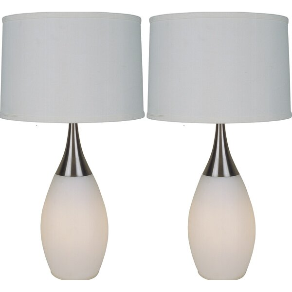 Zariah 28 Table Lamp (Set of 2) by Corrigan Studio