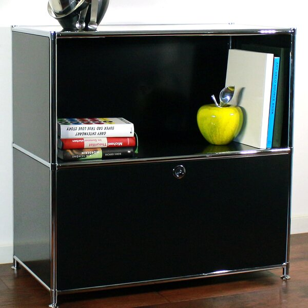 Credenza 1-Drawer Lateral Filing Cabinet by System4