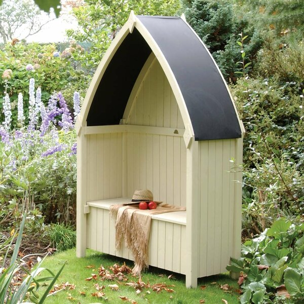 Winchester Boat Wood Arbor by Rowlinson