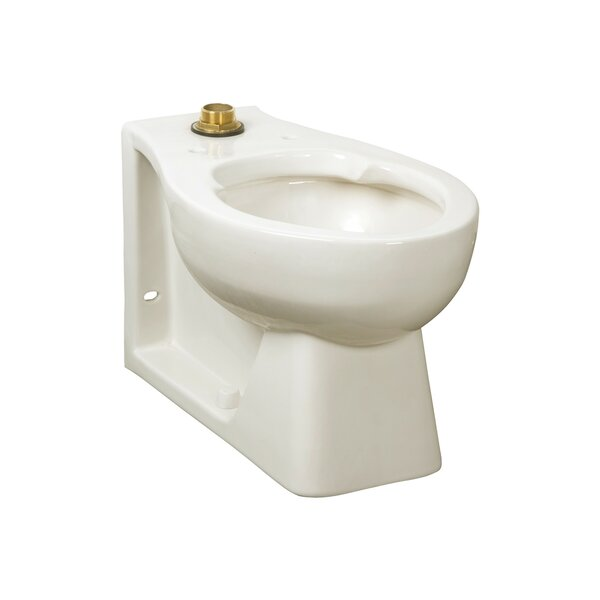 Huron Chair Height Dual Flush Elongated Toilet Bowl by American Standard